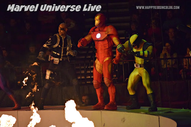 Marvel Universe Live at the Moda Center Portland,Oregon
