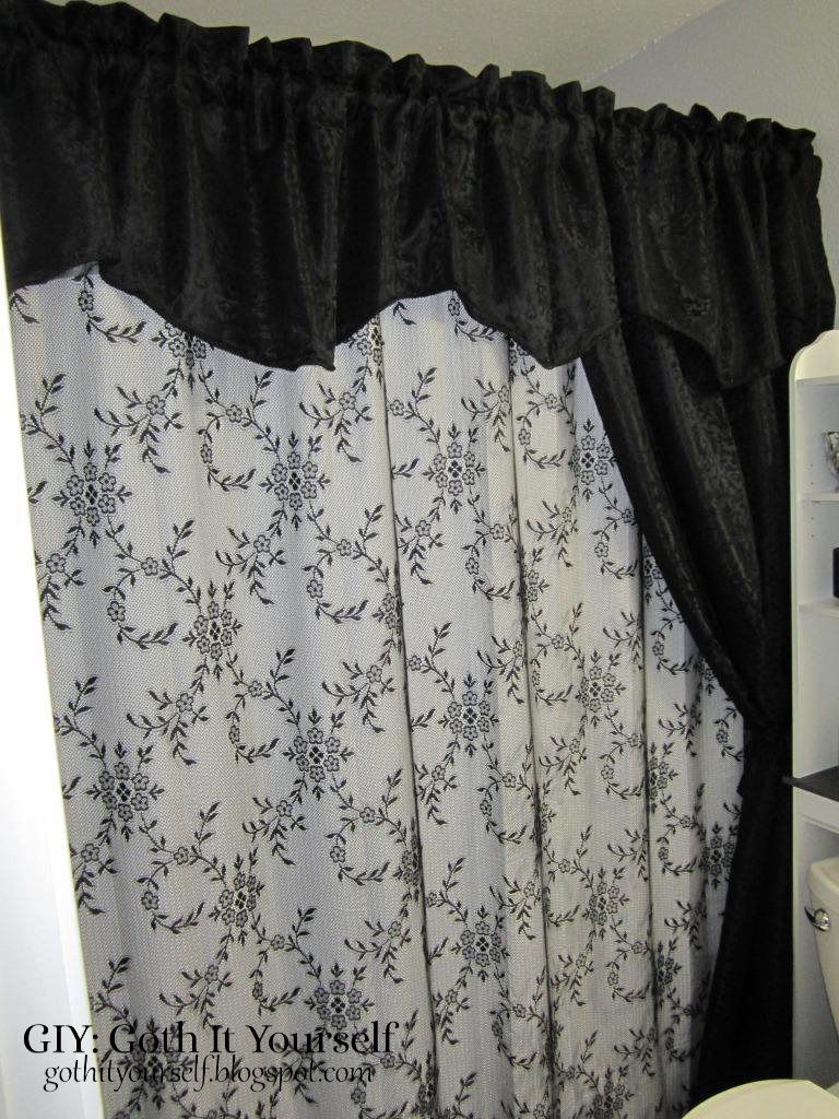 Lace And Jacquard Shower Curtains Curtain Bed Bath Beyond Walmart