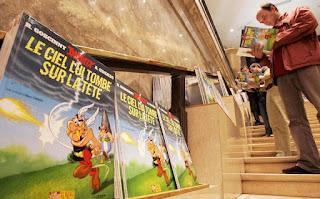 Ο νέος Αστερίξ κατακλύζει τα βιβλιοπωλεία