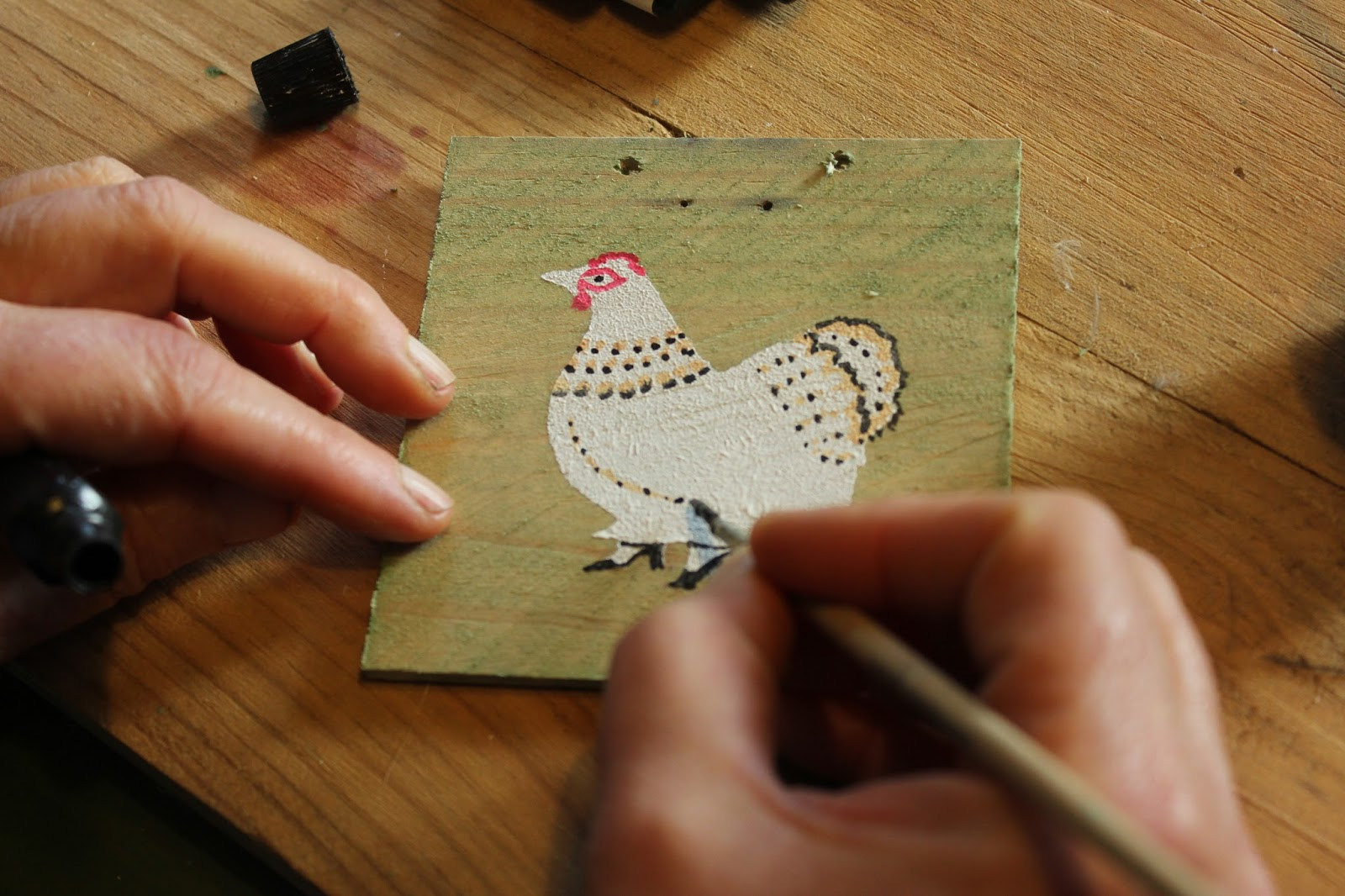 hand painted greetings cards