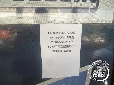 FOTO 2 :  Pelaporkan SPT Masa ke KPP Pratama Jakarta Gropet  Pakai Surat Penunjukan