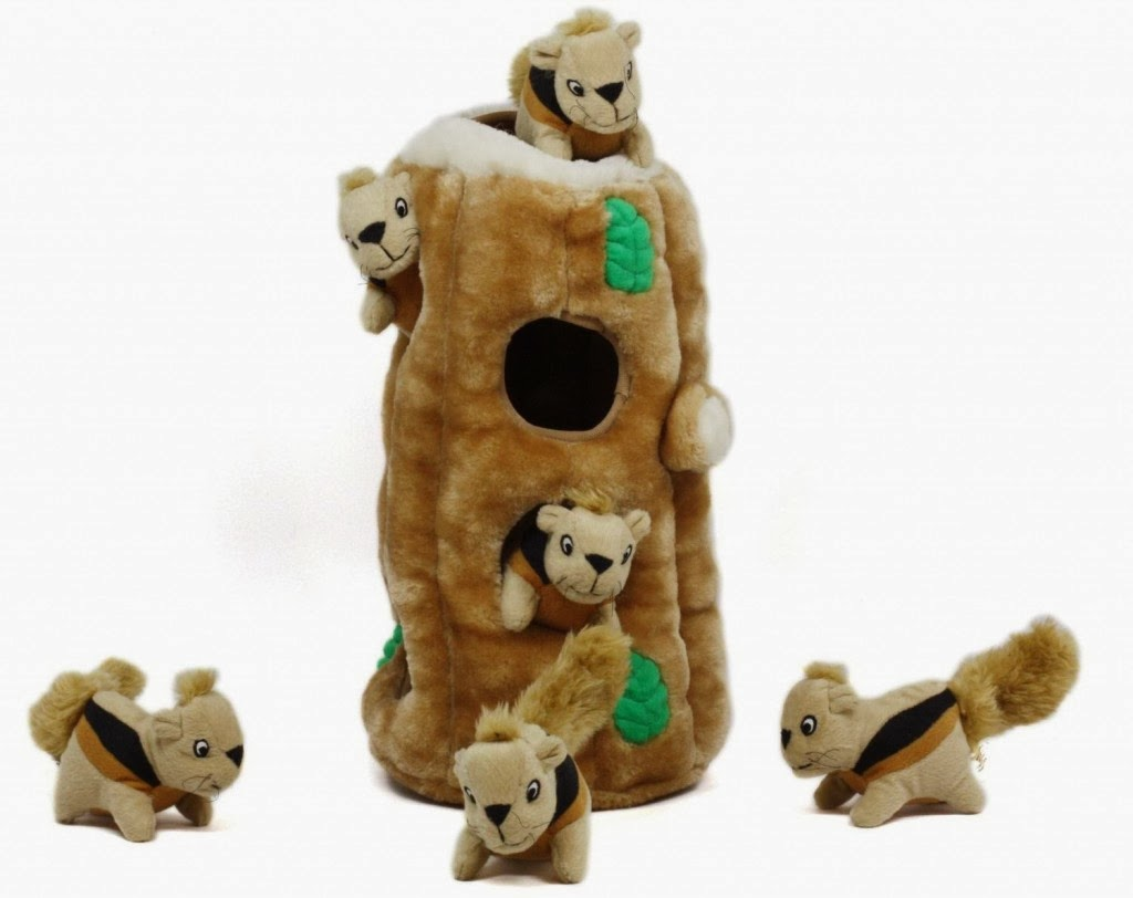Kyjen Hide-A-Squirrel Puzzle Toy for Dogs