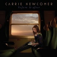 carrie newcomer before after album cover