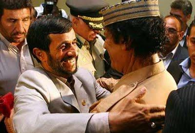 Ahmadinejad & Gadhafi