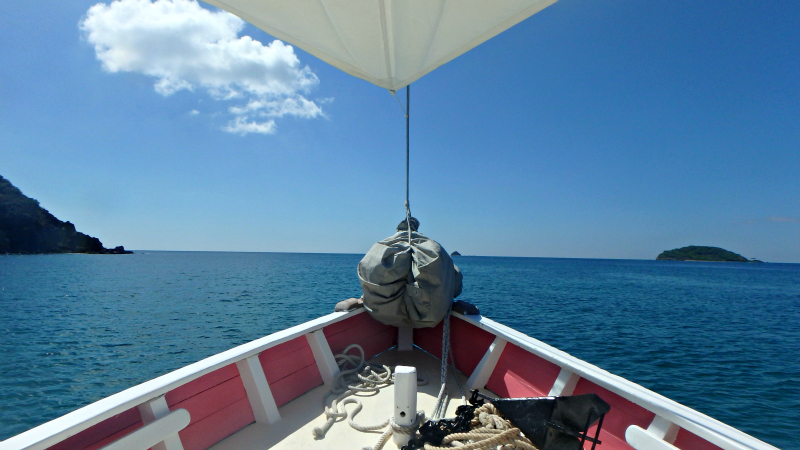Sailing around St Vincent and The Grenadines