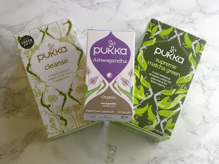 Pukka Supreme Matcha Green Tea & Cleanse Herbal Tea & Ashwagandha