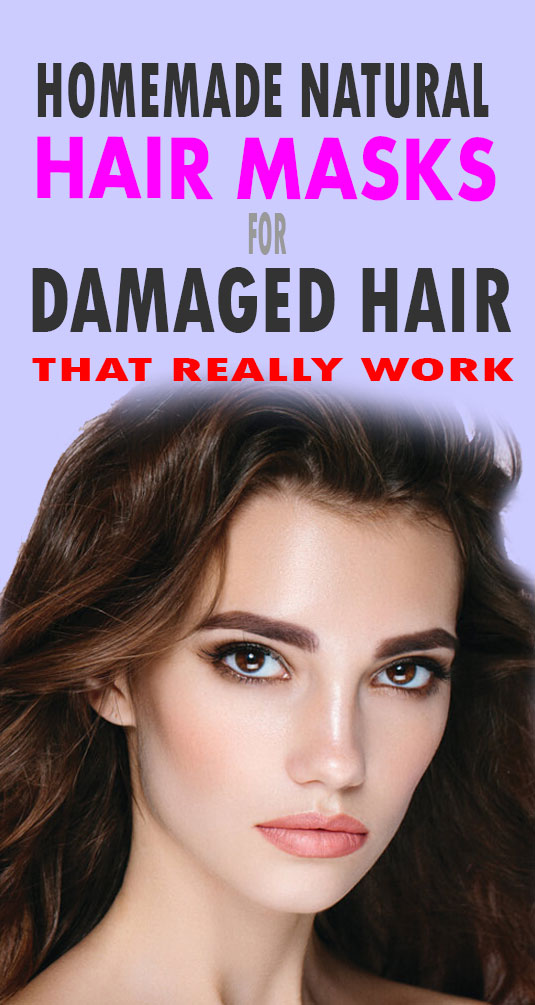 natural hair masks for damaged hair