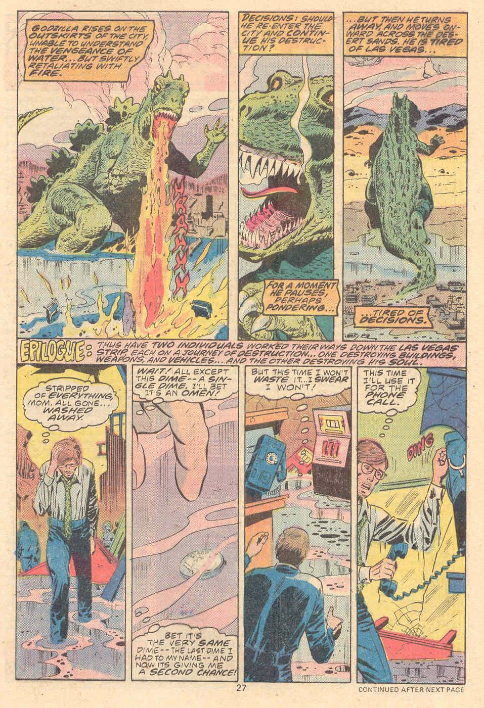 Godzilla (1977) Issue #9 #9 - English 16