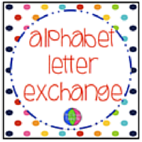 Alphabet letter exchange registration is ready first grade found me it back to my blog please if you want to share about this exchange on your blog facebook page etc im so happy to have you along on the wonderful fandeluxe Choice Image