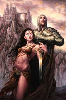 mujeres-guerreras-aladas-sensuales-dibujos-michael-c-hayes