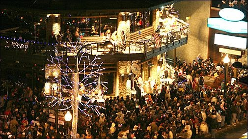 Smoky Mountain Travel Tips New Years Eve Ball Drop