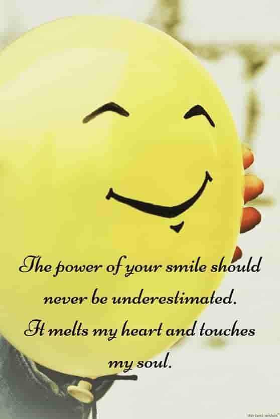 smile quotes for love