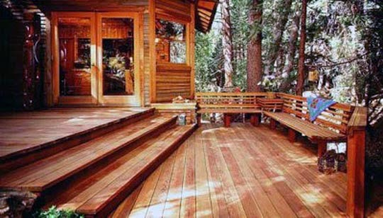 Wooden Patio Deck Designs Models