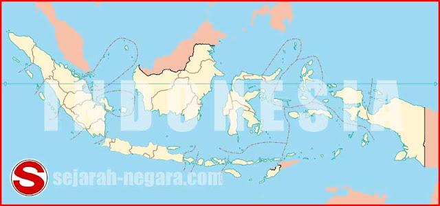 Peta Letak geografis dan peranan Indonesia