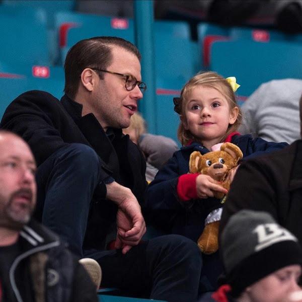 Daniel zagra w meczu hokeja na lodzie z najlepszymi hokeistami + jutrzejsza wizyta państwowa