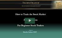 Beginners how to trade the stock market webinar - TechniTrader