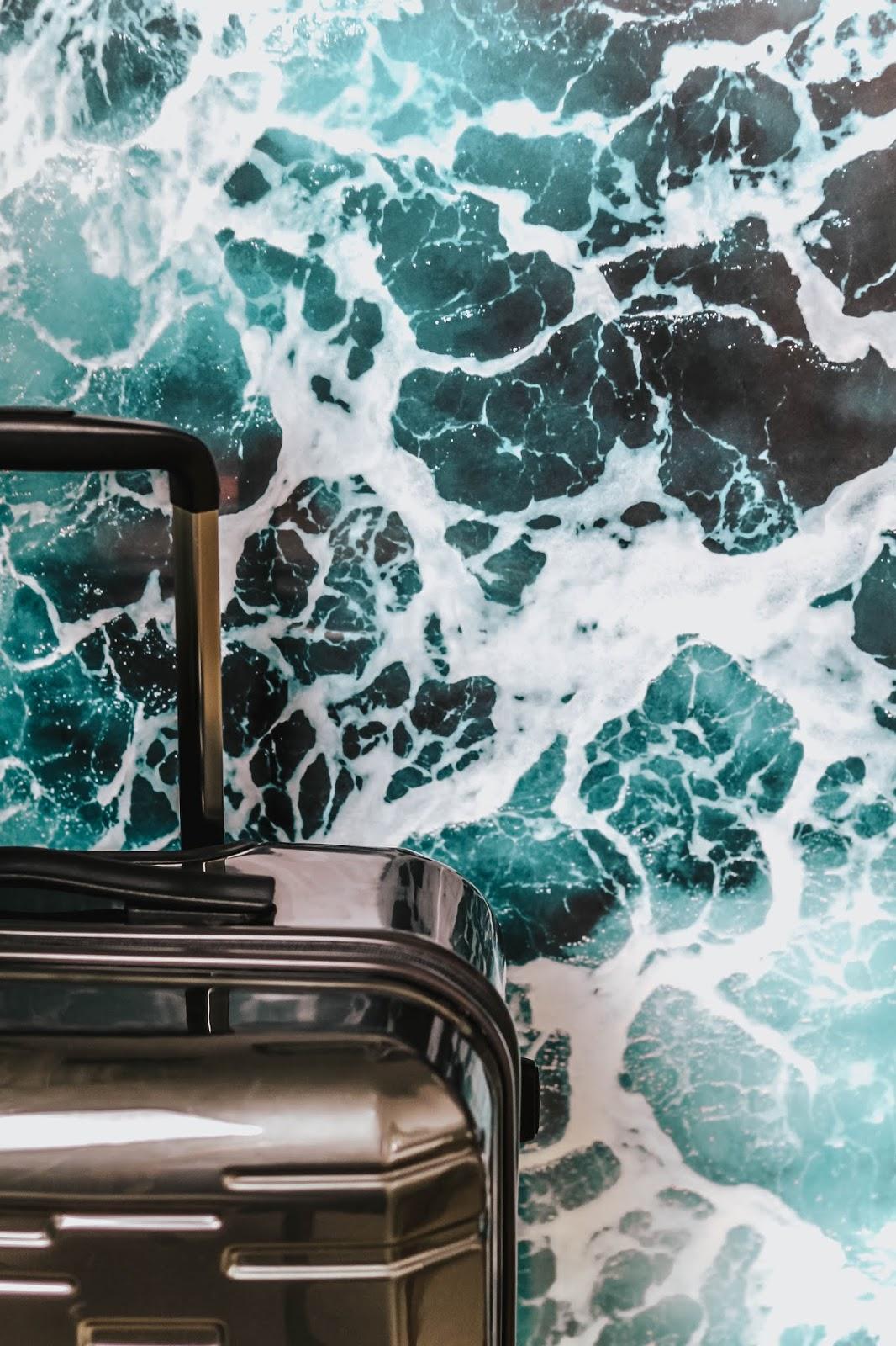 Prism Grey Antler Medium Suitcase