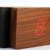 Đồng hồ led treo tường mini các múi giờ