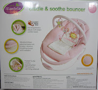 Mastela Cradle and Soothe Bouncer 2