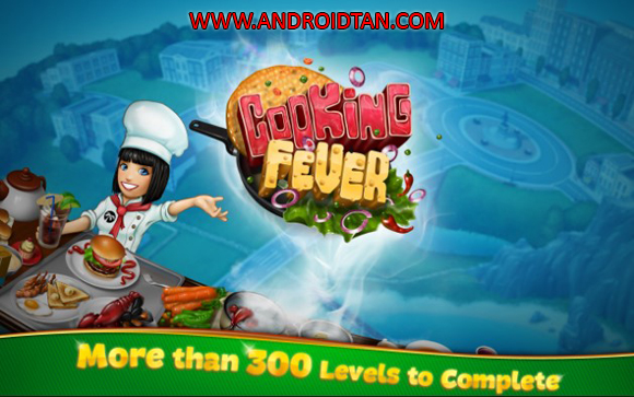 Free Download Cooking Fever Mod Apk v2.3.1 (Unlimited Gems/Coins) Android Terbaru Full Latest Version 2017