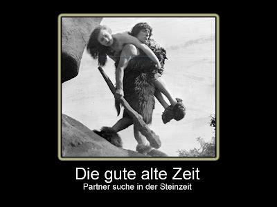 Humor Bilder mit Spruch Steinzeit Partner suche