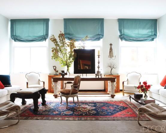 Jak Urządzić Salon Z Perskim Dywanem