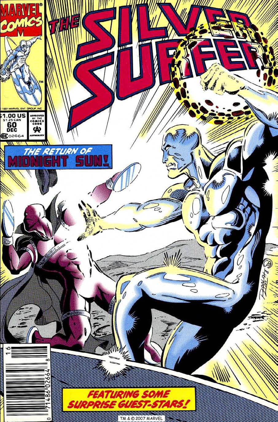 Read online Silver Surfer (1987) comic -  Issue #60 - 1