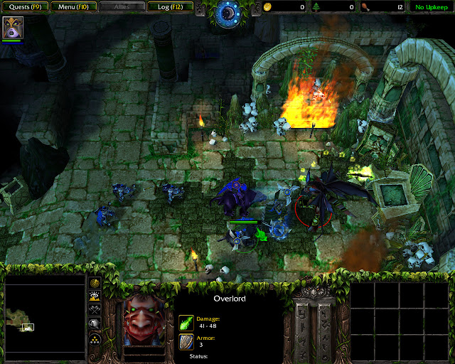The Tomb of Sargeras Mission 3 | Overlord Screenshot | Warcraft 3: The Frozen Throne
