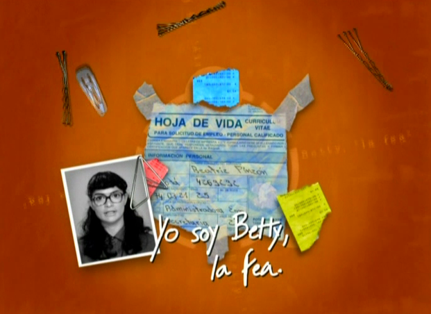 Póster Yo soy Betty la fea