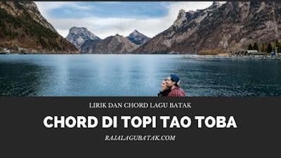 Chord Di Topi Tao Toba