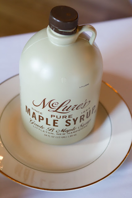 Wedding Brunch Reception - Maple Syrup Jug - Photo Courtesy of Brian Samuels Photography