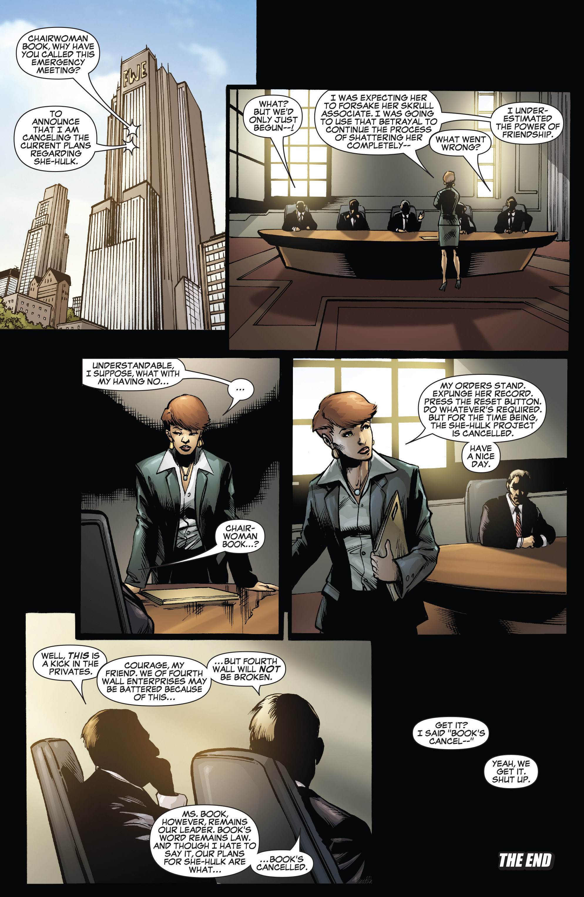 Read online She-Hulk (2005) comic -  Issue #38 - 34