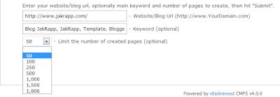Mensubmit Blog Ke Banyak 1800 Lebih link Sekaligus