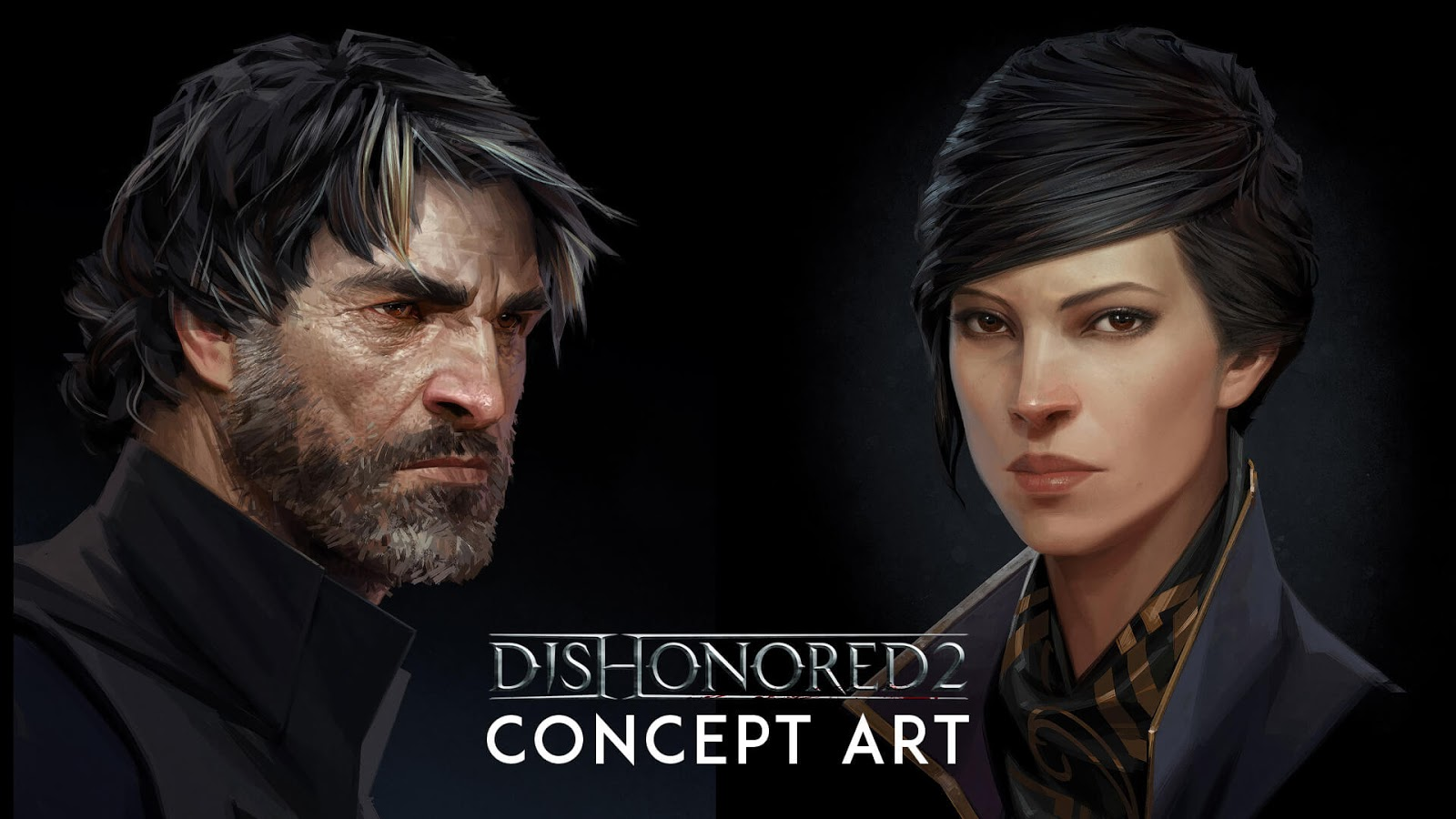 Dishonored Outsider Concept Art