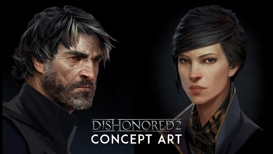 dishonored 2 corvo and emily