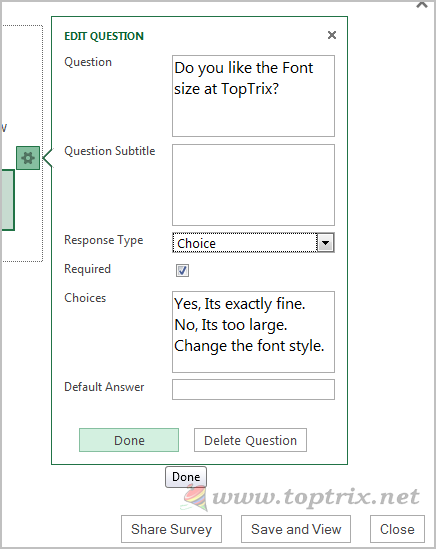 create-question-excel-survey