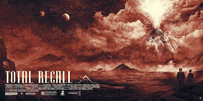 Total Recall Regular Edition Movie Poster Screen Print by Karl Fitzgerald x Vice Press x Bottleneck Gallery