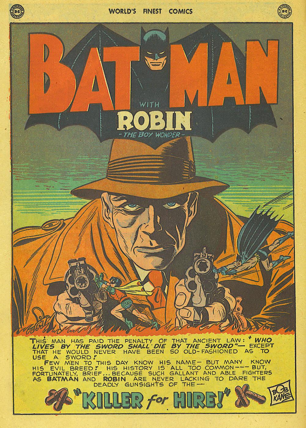 Read online World's Finest Comics comic -  Issue #34 - 62