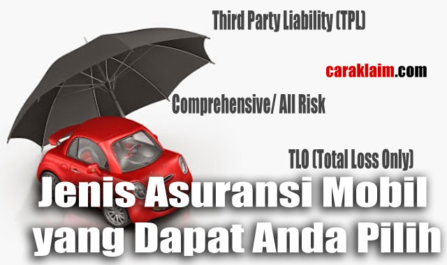 Jenis Asuransi Mobil yang Dapat Anda Pilih