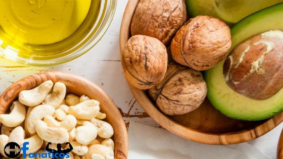 Dieta para Ganhar Massa Muscular - Gorduras