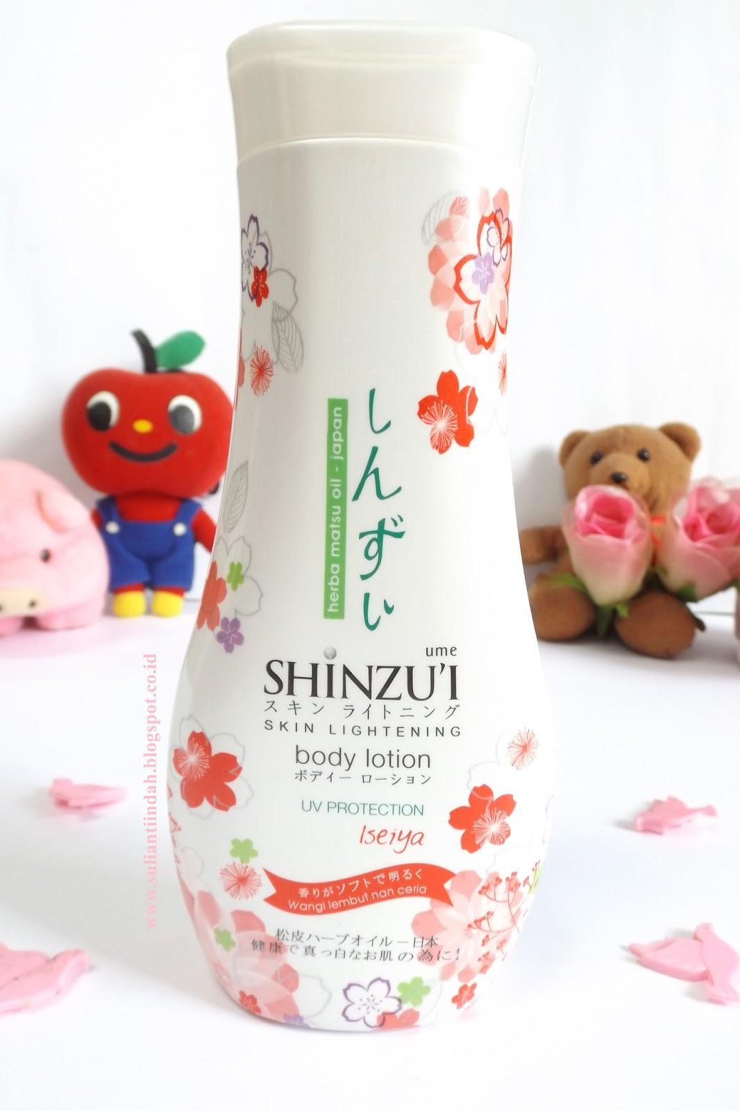 Before After My Beauty Secrets Shinzui Ume Body Scrub Adzuki Sabun Batang Lotion Uv Protection Iseiya