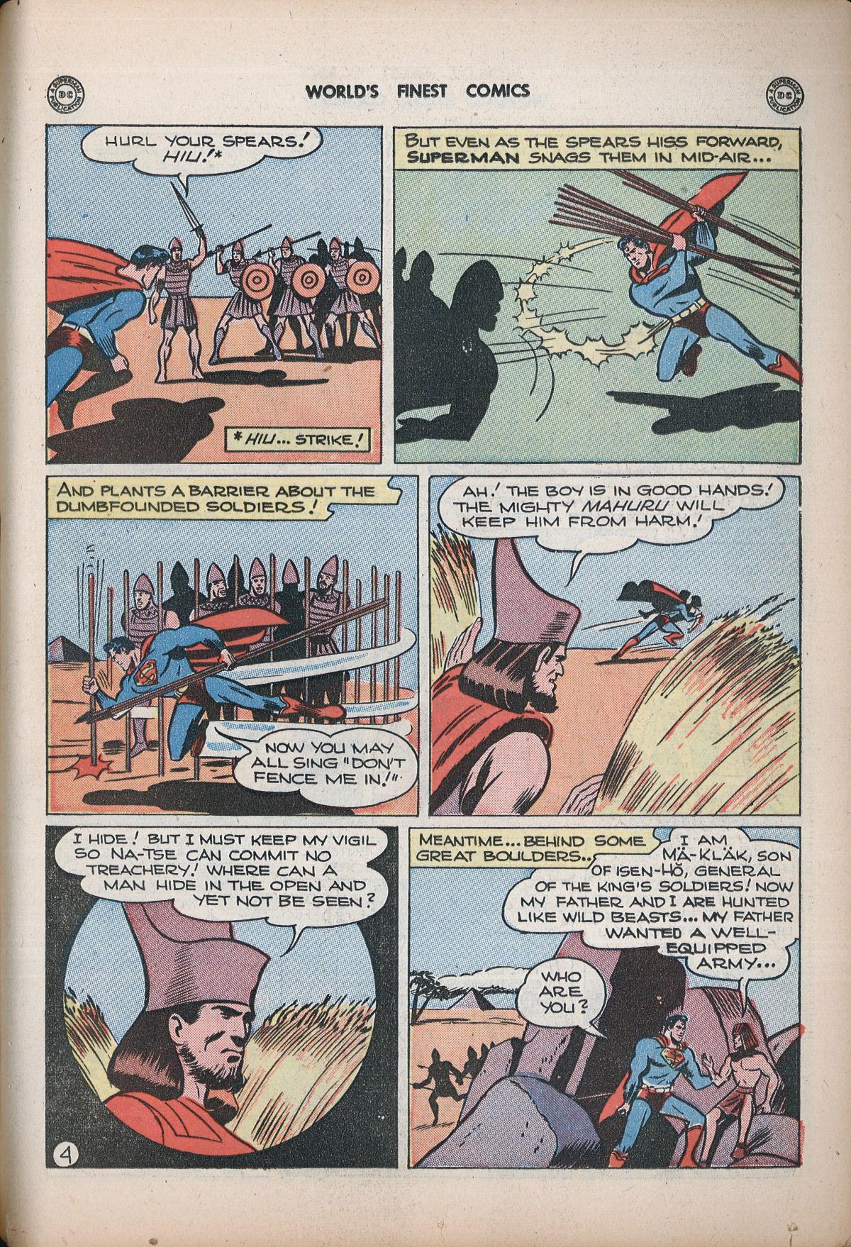 Read online World's Finest Comics comic -  Issue #32 - 63