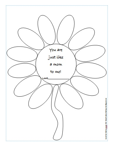 Classroom Freebies Too: A Free Mother's Day Activity