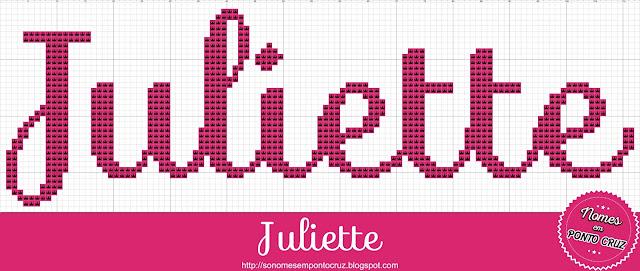 Nome Juliette em Ponto Cruz