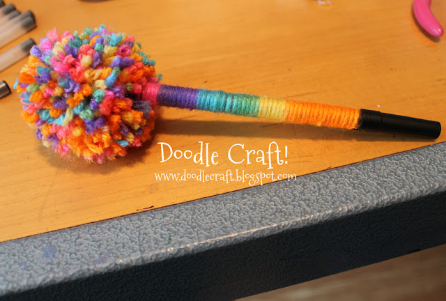 Doodlecraft Truffula Tree Pens