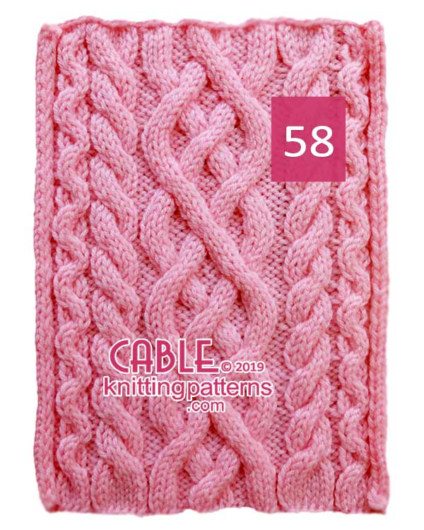 Cable Knitting Pattern 58