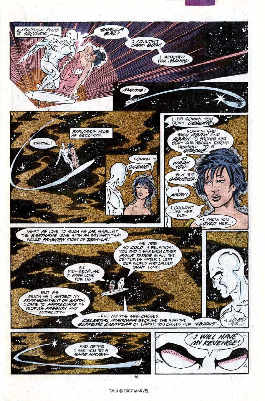 Read online Silver Surfer (1987) comic -  Issue #9 - 15