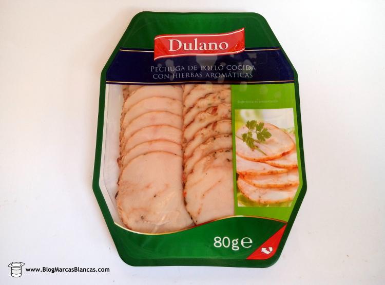 Lild nos trae una pechuga de pollo cocida con hierbas aromáticas de la marca Dulano fabricada en Alemania.