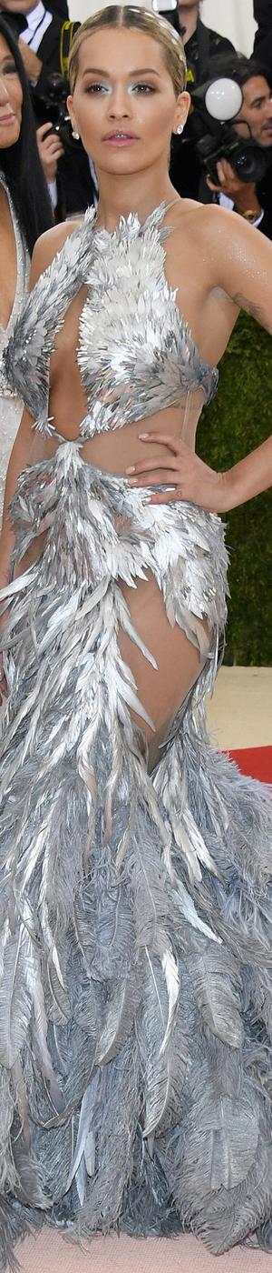 Rita Ora 2016 MET GALA
