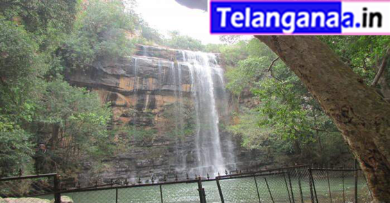 Waterfall Mallela Theertham in Telangana